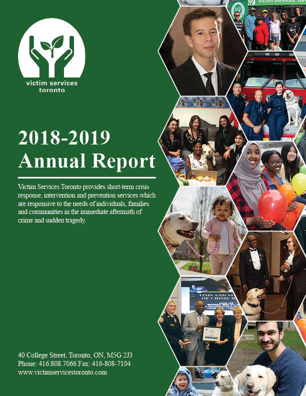 Victim Services Toronto Annual Report 2018-2019